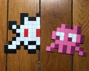 Space Invader Mosaic Kit - Level 1 - DYI Pixel Art