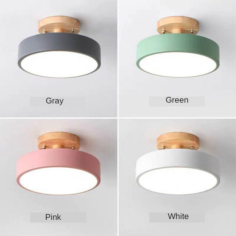 Pink White Gray Green Ceiling Light, Pink And White Chandelier Lamp Shades