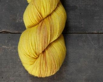 SUN FLOWER - Merino High Twist hand dyed