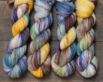 GREAT BARRIER REEF - LuxurySocks 100g hand-dyed