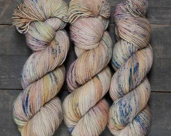MATSCHPRINZESSIN - hand dyed sock yarn, 150g 6-fold