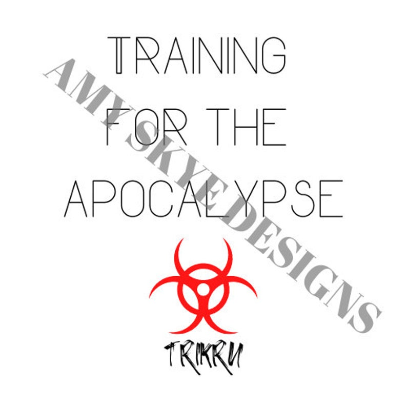 Training for the Apocalypse Trikru The 100 Cropped Tank