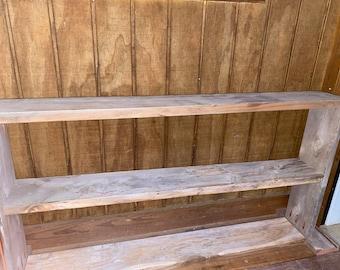 Shoe Rack Reclaimed Red Wood | Outdoor/Indoor