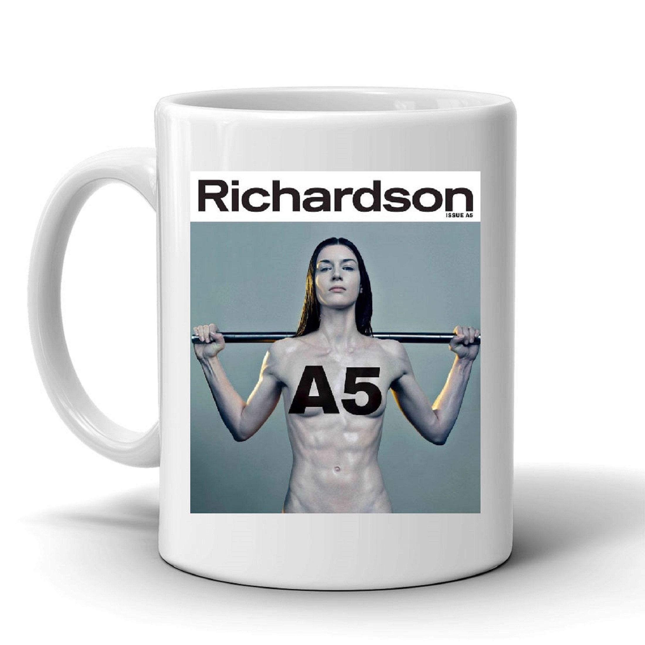 Belladonna Richardson Magazine Cover Porn Star Mug | Etsy