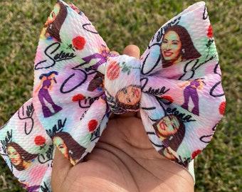 Selena Collage Selena Bow Headwrap