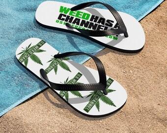 U.S. WEED CHANNEL Flip-Flops