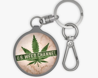 U.S. WEED CHANNEL Super Bichin' Keyring