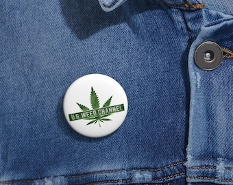 U.S. WEED CHANNEL Pin
