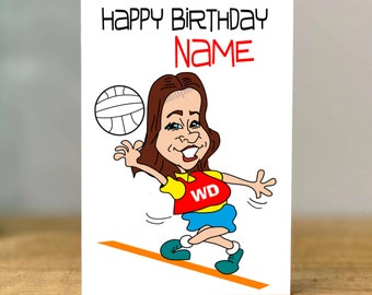 Girls Daughter Grandaughter Friend Female Netball Player 11th Birthday Card