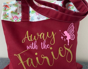 Sparkly Fairy Tote Bag
