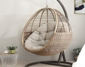 Hanging Basket Hanging Chair Balcony Rocking Chair Home Chair Indoor Swing web celebrity Lazy Cradle Rattan Chair Court Outdoor