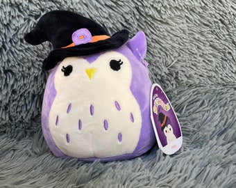 """Personalized 5"""" Squishmallow Holly the Halloween Owl"""