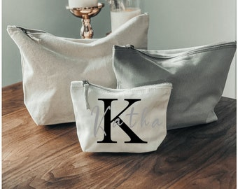Cosmetic bags personalized