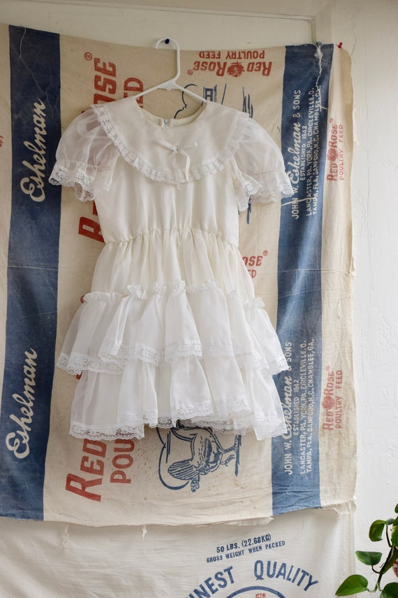1970s Square Dancing Mini Dress - image 2