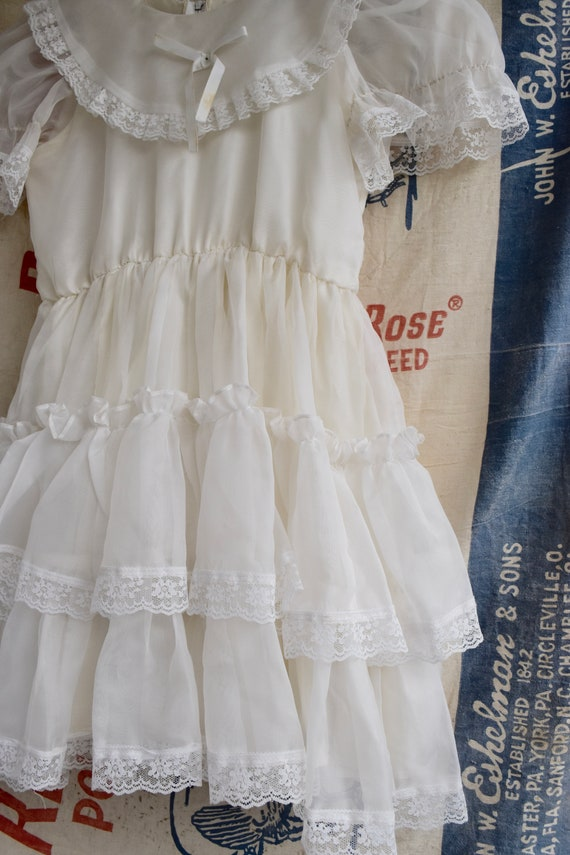 1970s Square Dancing Mini Dress - image 7