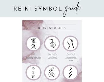 Reiki Symbol Printable Guide - Reiki Teaching Printable