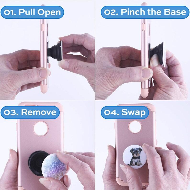 Mando Popsocket Phone Grip