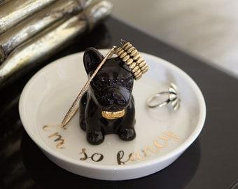 Jewelry Holder Sakura Titanium Jewelry Dish Anodized Titanium Floral Ring Dish Jewelry Storage Trinket Dish Mother/'s Day