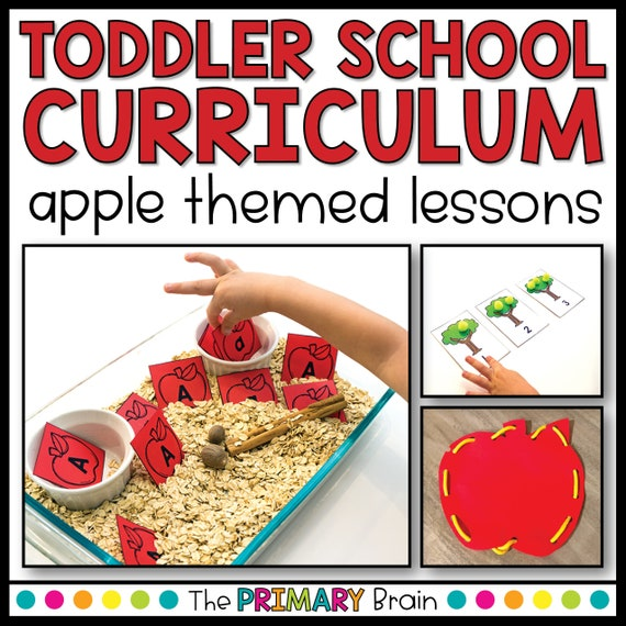 Toddler School Lesson Plans  Apple Themed Activities