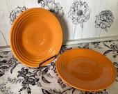 Tangerine Fiesta Luncheon Plate