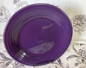 Plum Fiesta Dinner Plate
