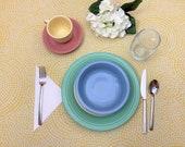 Fiesta Pastel 5 piece dinnerware set - Retired colors