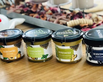 0.7kg (5x140g) HoneyMix Combi Honey with various fruits and herbs