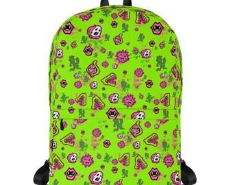 Green YumYum Backpack