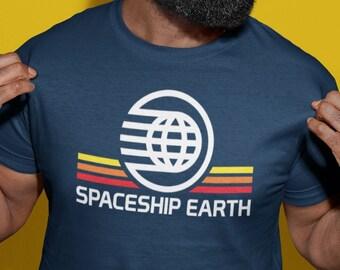 Spaceship Earth Shirt - Epcot Shirt - Future World Shirt - Unisex Disney Shirt