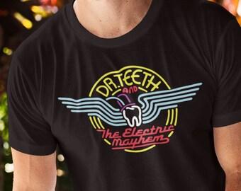 Dr. Teeth and the Electric Mayhem Shirt - Muppet Shirt - Kermit Shirt - Unisex Disney Shirt
