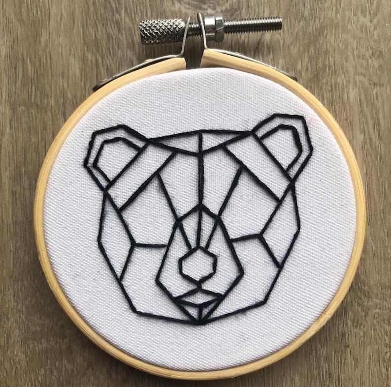 Geometric Bear 3