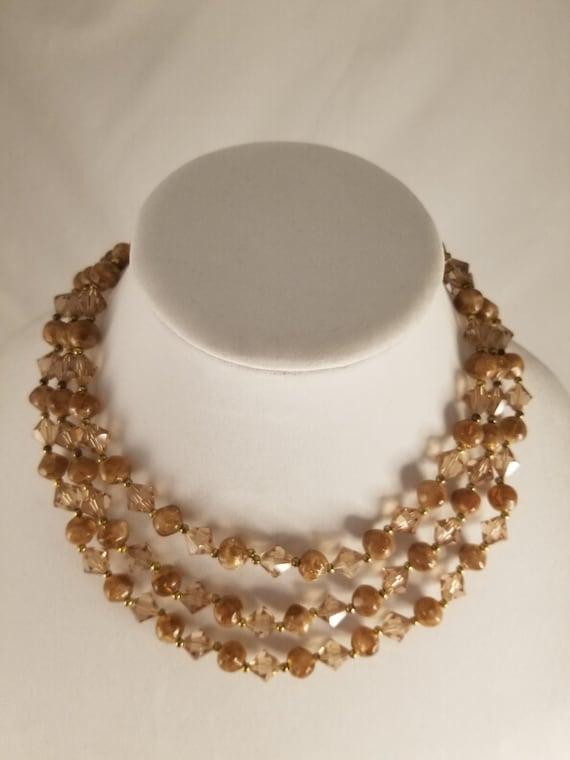 Vintage Lisner Necklace & Bracelet