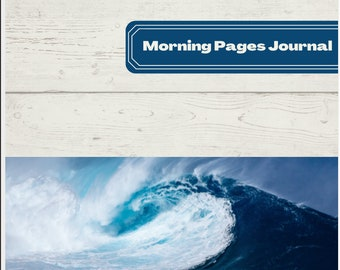 MORNING JOURNAL PAGES - Dark Blue Ocean Theme