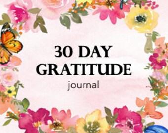 JOURNAL - 30 Days of Gratitude