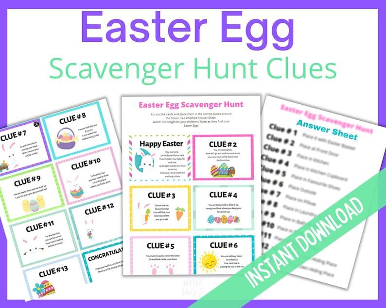 Easter Treasure Hunt