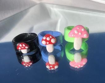 1 Silicone Mould House Mushroom Troglodyte Cappadocia 3D Fairy for Fimo Pl\u00e2tre WEPAM Porcelain Wax Soap Resin Clay Fimo K759
