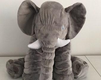 Giant Stuffed Elephant   Baby Elephant Pillow   Huge Plush Elephant Toy   Infant Plush Elephant   Stuffed Plush Toy Baby Shower Gift