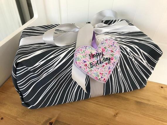 Extra large reusable fabric wrap. Reusable fabric wrapping sheet