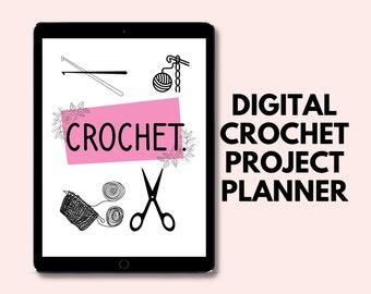 Monthly Crochet Planner   Digital Crochet Project Planner   Craft Fair Planner   Yarn Stash Tracker   Craft Project Planning Sheet