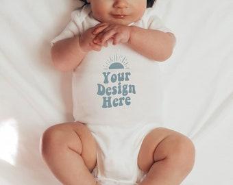 Baby Onesie Mock Up Baby Mock Up Model Mock Boho Mock Boho Baby Mock Up Baby Onesie Model Mockup Infant Mock Bodysuit Mock Up