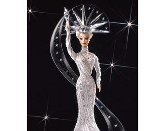 Bob Mackie Lady Liberty Barbie-MINT W/SHIPPER!
