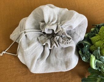 Linen potato bag
