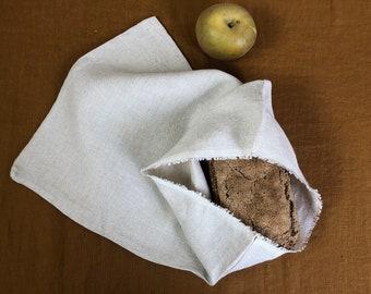 Linen bread bag in two variants