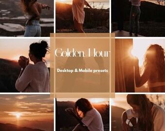 Bloggers preset   golden hour   Lightroom   filter   Mobile & Desktop   Influencer   warm tones   orange   Summer   Sunset   Sunrise