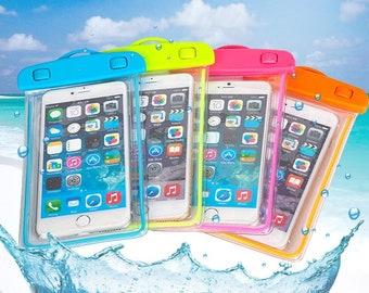 Underwater phone pouch, waterproof phone holder, phone case, waterproof phone case, under water camera case, iphone case, water resistant