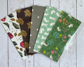 Cash Envelopes for Wallets and Personal/A6 Binders