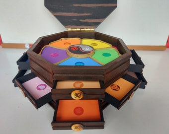 Custom Jewelry box   A beautiful and colorful product