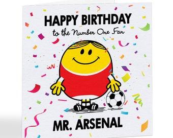 Handmade carte CARTE POUR Arsenal No.1 Ventilateur pour Arsenal No.1 Fan