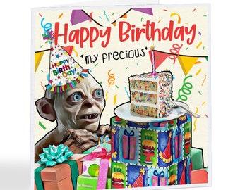 Happy Birthday My Precious - Gollum - LoR- Birthday