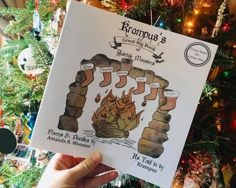 Krampus's Great Big Book of Yuletide Monsters